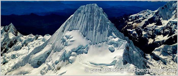 Trekking Santa Cruz-Expeditionen Nevados Alpamayo, Artesonraju und Huascaran